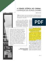 CAÚLA, Adriana - A Cidade Utópica No Cinema