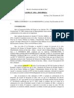 Resolucion Del Comite de Recepcion de Obra
