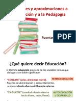1 - 1 - Reflexiones y Aproximaciones a La Educación y A