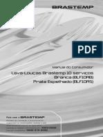 Brastemp Lava Loucas BLF10AB Manual Versao Digital