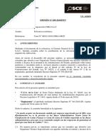 058-19 - TD. 14568058. CORPORACION CIMA S.a.C. - Acreditacion Del Req. Calf. Solvencia Economica
