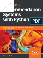 Hands-On Recommendation Systems with Python_ Start building powerful and personalized, recommendation engines with Python.pdf