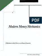 Modern Money Mechanics (Exposed)