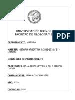 HISTORIA ARGENTINA II (1862-1916) B (LETTIERI) - 1C 2019.pdf