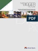 Third Quarterly Report