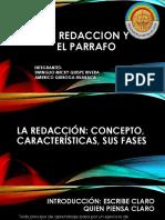 La Redaccion y El Parrafo