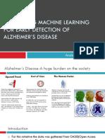 alzheimer disease prediction