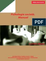 BETEA LAVINIA Psihologie Sociala. Manual 2015 Ed. Electronica