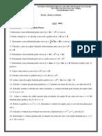 Problemas Resolvidos Calculo III