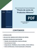 9. Valorizacion de Productos Mineros