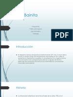presentacion de la Bainita