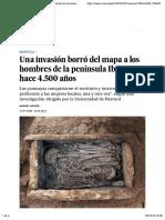 Yamnaya- Una invasión borró del mapa a los hombres de la península Ibérica hace 4.500 años