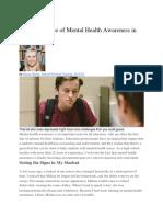 mental health article