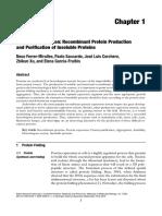 Capítulo de Libro producción de proteínas recombinantes