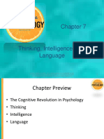 Ch07 Thinking, Intelligence and Learning