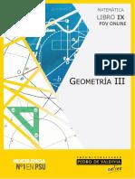 Libro IX (201X) Geometría III