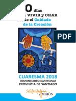 Cuaresma 2018 Solidaridad Mision