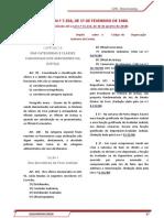 ATUALIZAÇÃO - Lei n° 7.356.1980 - (COJE) Código de Organização Judiciária do RS - 2018