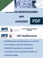 PresentaciOn Operativa IRPF Vig72015