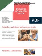 Derechos Universales Del Adulto Mayor