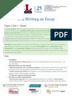 CAE Writing ways