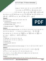 Problèmes Du 1er Et 2eme Degré 2ème Sciences Et Informatique 1