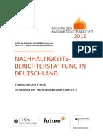 Nachhaltigkeits-berichterstattung in Deutschland
