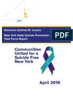 Suicide Prevention Task Force Report