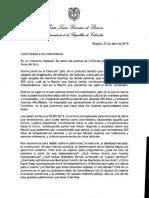 Vicepresidenta de la República invita a los colombianos a que en la FILBO nos sintamos más colombianos que nunca - Carta Filbo