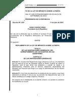 REGLAMENTO DE ISLR 2004.pdf