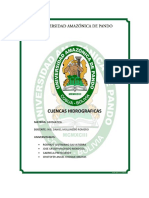 GEO Cuencas Informe