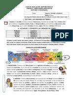 Guía de Nivelación 7mo Básico.