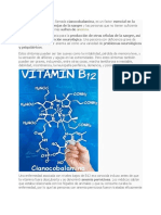 La Vitamina B11 Habitualmente Más Conocida Como