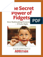 10251 for Parents the Secret Power of Fidgets