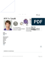 Sho Sasaki - Nazionale Transfermarkt