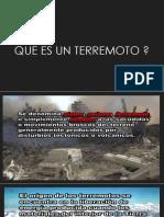 TERREMOTOS EXPOSICION