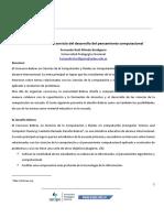 Las tareas Bebras al servicio del desarrollo del pensamiento computacional - Fernando Bordignon