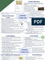 judiasm cultural project