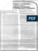 """Carta Abierta Camara Petrolera """"Dramática Situación del Sector Petrolero Privado"""" 29 de Abril 1983 - Edgard Romero Nava"""