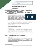 1.0 Especificaciones Tecnicas Obras Provisionales