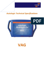 Autologic Technical Specifications VAG