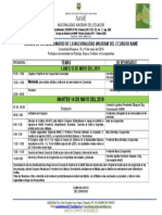 Agenda Congreso Nawe Mayo 13-14-2019
