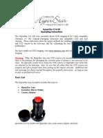 HyperStar C14 HD Instructions