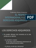 55321397 El Respeto Internacional a Los Derechos Adquiridos