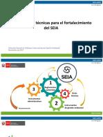 1. EIA. Herramientas Técnicas Para El Fortalecimiento Del SEIA. Juan Pablo Carrera