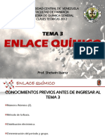 Tema 3 Enlace Químico - Clase 1