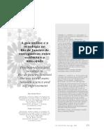 RUSSO. Psicanálise e Sexologia No Rio de Janeiro Entreguerras
