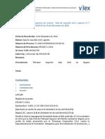 SENTENCIA DE CORTE SUPREMA DE JUSTICIA - SALA DE CASACIÓN CIVIL Y AGRARIA Nº T 1100122030002016-02318-01 DE 14 DE DICIEMBRE DE 2016.docx