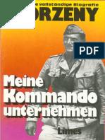 Otto Skorzeny Meine Kommandounternehmen Krieg Ohne Fronten
