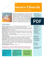st germans newsletter - 20 april 2019 -  easter sunday